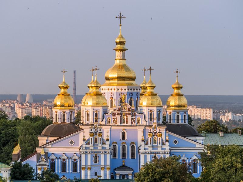 Golden Domes of St Michael's Monastery, Kiev, Ukraine