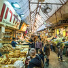 At the Machane Yehudah Market, Jerusalem