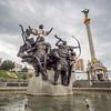 The Founders of Kiev Monument, Ukraine
