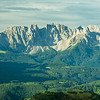 Latemar Mountains and Surrounding Forests, South Tyrol, Italy