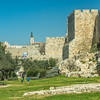 Park outside the Old City Walls, Jerusalem