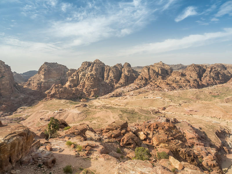 Petra from Above, Jordan