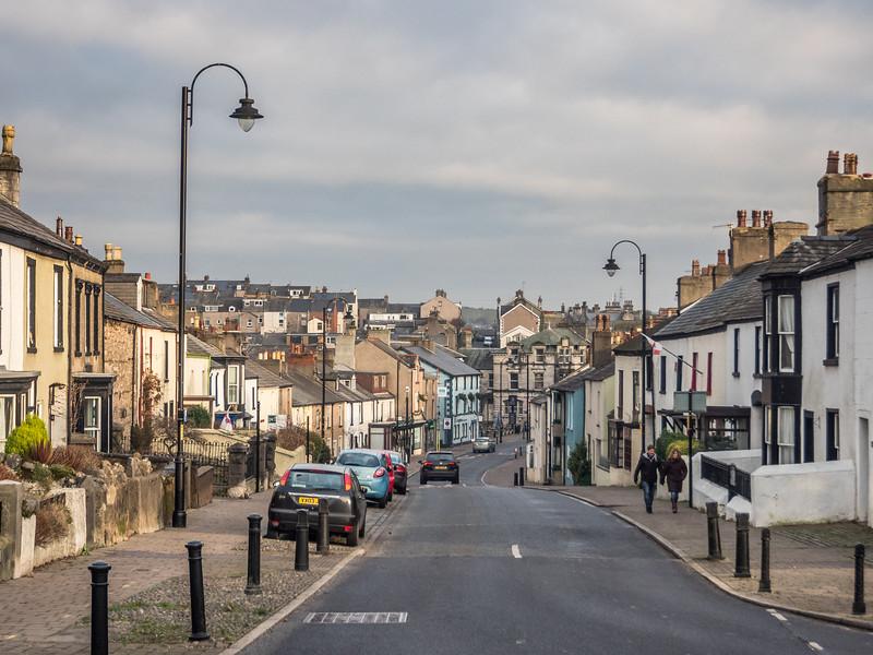 Dalton-in-Furness Street Scene, England