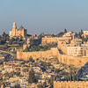 Old City Walls and Mount Zion, Jerusalem