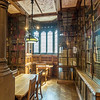 Study Nook in the John Rylands Library, Manchester, England