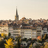 Autumn Afternoon over the Houses, Bern, Switzerland