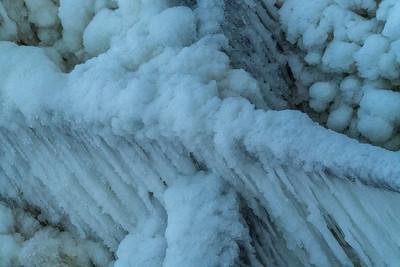 Icescape: Brandywine Creek   Cuyahoga Valley National Park