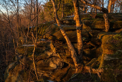 Landscape: Sunset, The Ledges | Cuyahoga Valley National Park