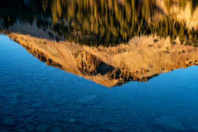 Landcape: Lassen Peak and Lake Helen | Lassen Volcanic National Park