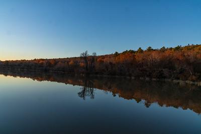Landscape: Lake Wister Slough | Lake Wister, Oklahoma