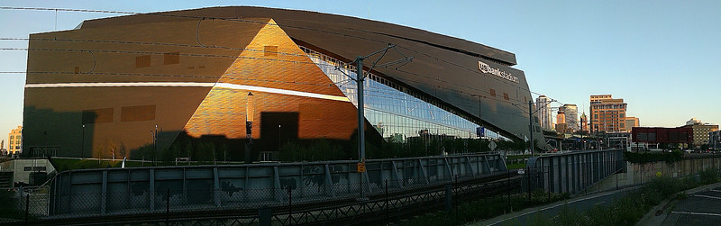 US Bank Stadium(panoramic)- Minneapolis MN