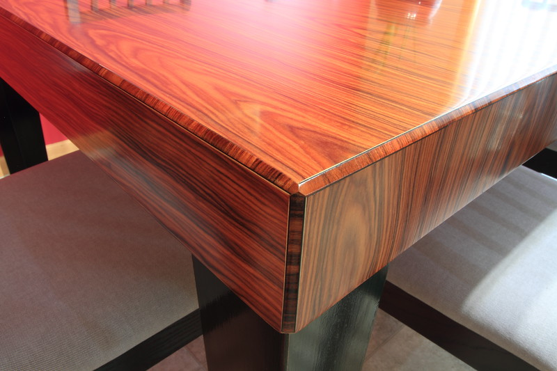 Miter-folded Recon Rosewood MDF w/ Inlay chamfers