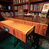 Table top made of Recon Rosewood MDF