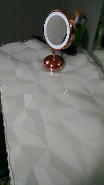 Avian's Vanity w/ glass top