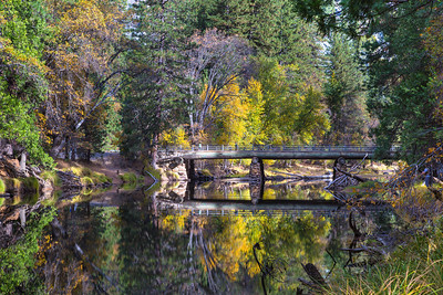 Fall colors reflection.