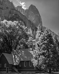 Chapel in Yosemite Valley