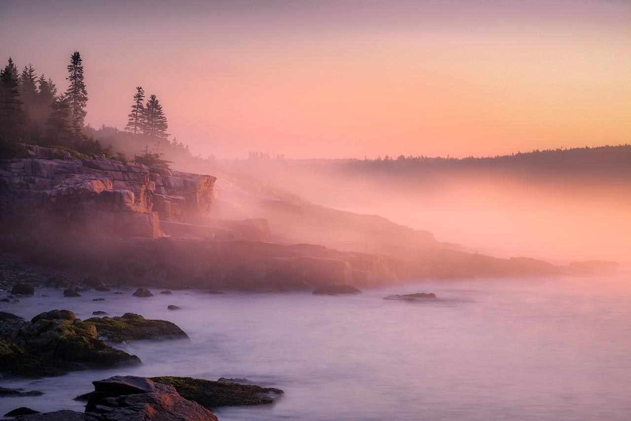 Ocean Path Sunrise