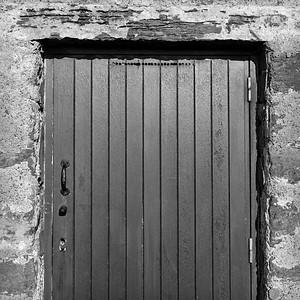 Door at Keiss Harbour