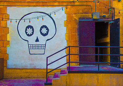 'Stage Door,' The Rialto, Downtown Tucson, 2017.