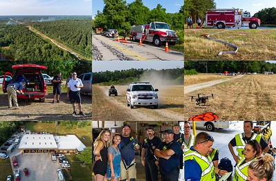 2019-05-29-nhfd-woods-fire-montage