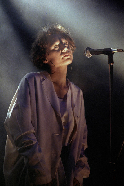 Elizabeth Fraser performing with The Cocteau Twins at the Warfield Theater in San Francisco on March 13, 1991.