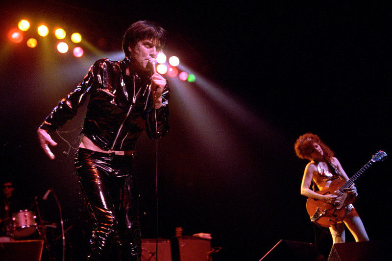 The Cramps perform at the Warfield Theater in San Francisco in June, 1990.