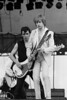 Pete Farnsdon and James Honeyman-Scott perform with the Pretenders at the Heatwave festival at Mosport Park near Toronto on August 23, 1980.