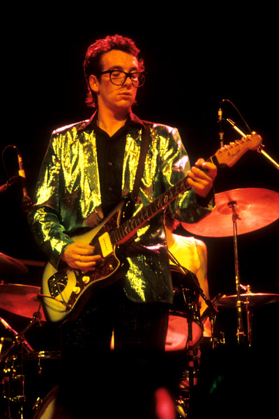Elvis Costello & the Attractions perform at the Berkeley Community Theater, 2-10-79 on the Armed Forces U.S. tour.