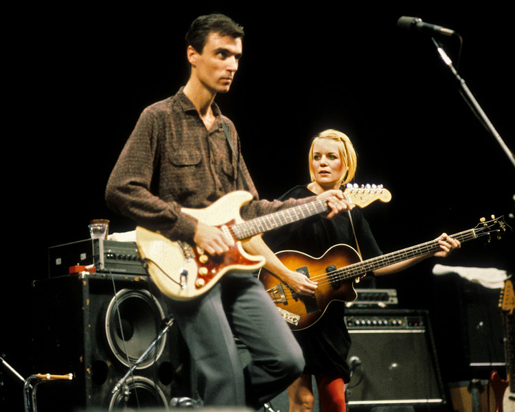Talking Heads perform at Zellerbach Auditorium in Berkeley, CA in October, 1980.