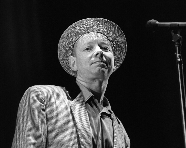 Joe Jackson performing live at the Greek Theater in Berkeley, CA on August 25, 1989.