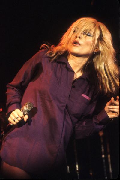 Debbie Harry and Blondie perform at Winterland on November 18, 1978.