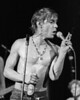 Iggy Pop performs at the Oakland Auditorium on October 31, 1980. Iggy opened for The Police on this Halloween show.