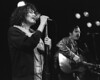 Exene Cervenka and John Doe performing live with the Knitters at the Berkeley Square on February 21, 1986.