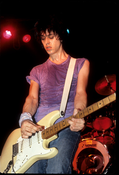 Brian Marnell performs with legendary new wave/punk band SVT at The Stone in San Francisco in August 1981.