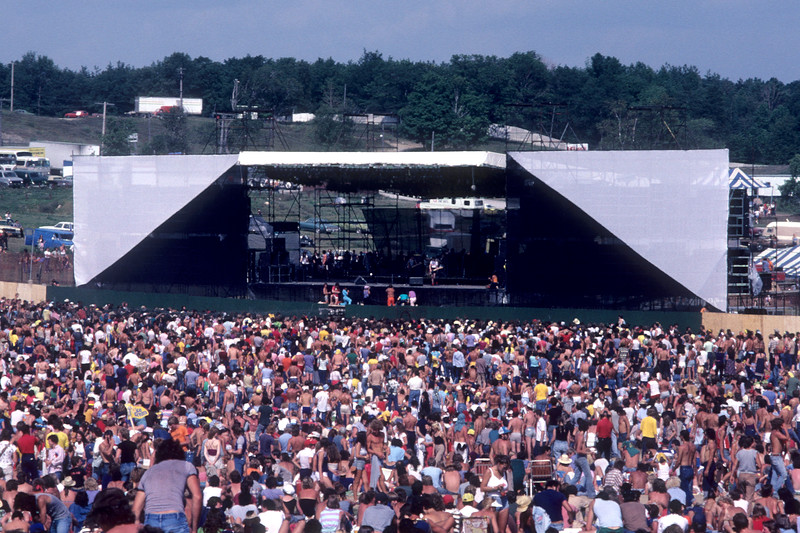 """The Heatwave Festival at Mosport Park race track near Toronto on August 23, 1980 was touted as the first """"New Wave"""" rock festival, featuring Elvis Costello, Talking Heads, B-52's, Pretenders and Rockpile."""