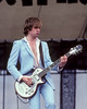 James Honeyman-Scott performs with The Pretenders at the Heatwave Festival at Mosport Park near Toronto on August 23, 1980.