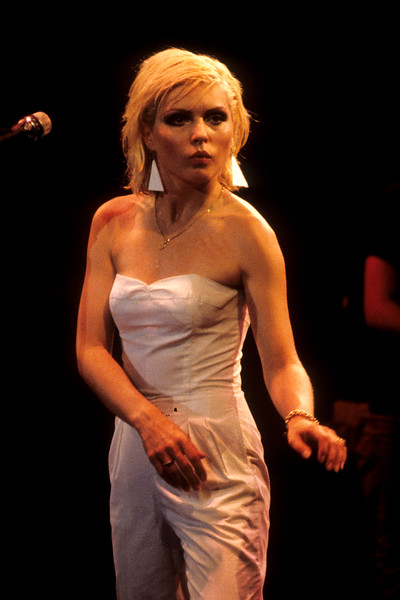 Debbie Harry and Blondie perform at the Oakland Auditorium on August 12, 1979.