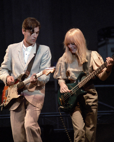 Talking Heads perform at the Greek Theater in Berkeley on September 4, 1983.