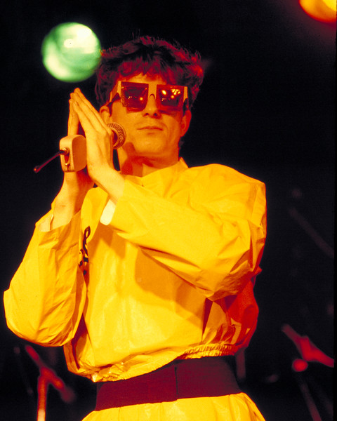 Mark Mohersbaugh performs with Devo at the Old Waldorf in San Francisco on November 20, 1978.