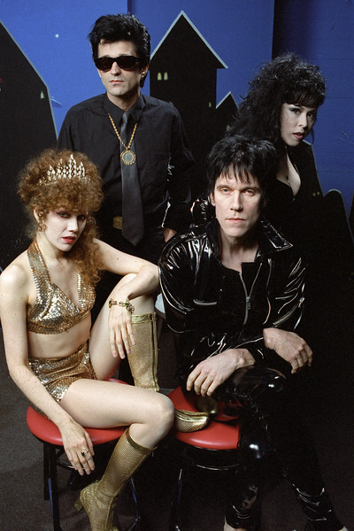 The Cramps, backstage at the Warfield Theater in San Francisco in June, 1990.