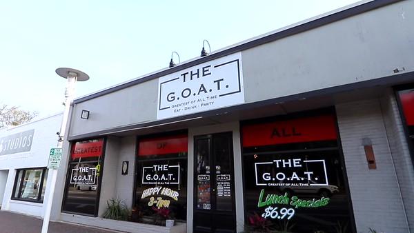 THE G.O.A.T. Restaurant Ad