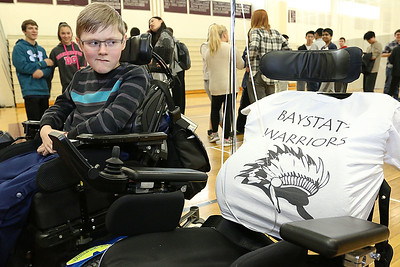 New Wheelchair for Luke Dillon at WA, Feb. 10, 2017