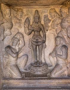 Wall Carvings at Mahabalipurim