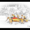 Photo Sketch, DHL, Indy 1017