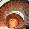 Pleasant Hill Shaker's stairway -1