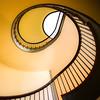 Pleasant Hill Shaker stairway - 2