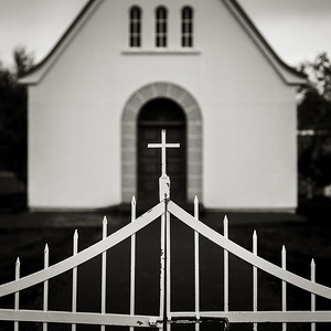 Church Gate, Dalvik, Iceland, 2018