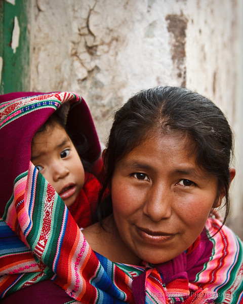 Mother and Child - Peru