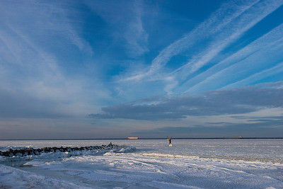 Chesapeake Bay Freeze of 2018