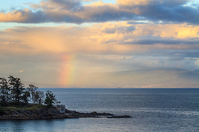 Rainbow and Neck Point